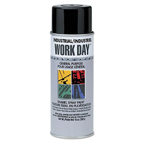 SPRAYON A04457000 16 Oz. Work Day Enamel Aluminum (Price is for 12 Can/Case)
