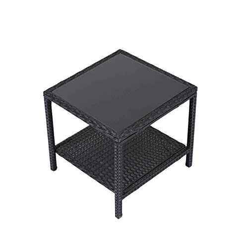 Buy outdoor wicker cocktail table