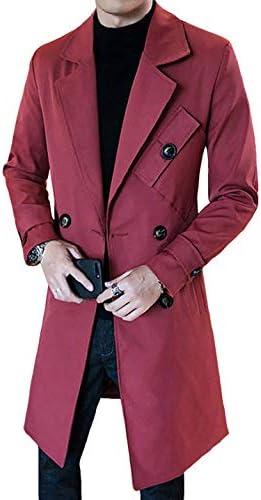 コート メンズ ロング ジャケット トレンチコート ビジネス 秋冬 防寒 防風 大きいサイズ