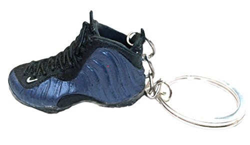 JWONG 2010 Nike Air Foamposite One Royal 3D Keychain Laces Not Detachable by Jwong