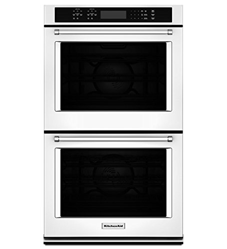 "Kitchenaid - 27"" Built-in Double Electric Convection Wall Ov"