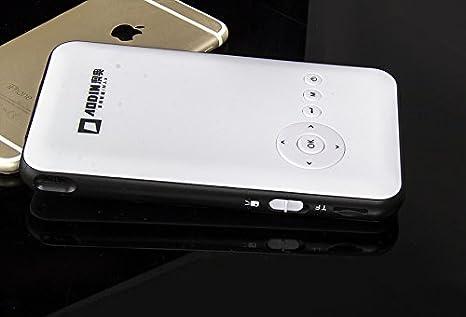 MU más nuevo Android AODIN proyector LED 4.4 RK3128 1G / 8G de ...