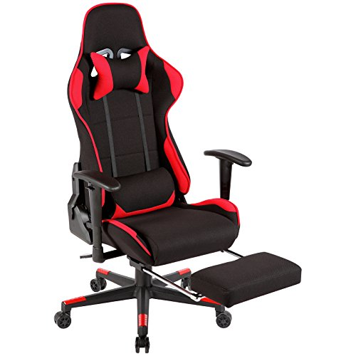 Mecor Ergonomic Gaming Chair High Back Racing Style Recliner Office Chair Computer ,Executive Swivel Leather Chair with Lumbar Support Headrest with Footrest 135 Degree Back Movement by Mecor