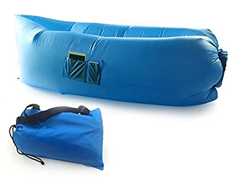 Beach King Inflatable Lounger is the TOP hangout lazy bag for beach, mountains, garden, camping and festivals. Made from lightweight nylon fabric.