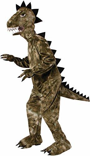 Funny Green Man Costumes (Forum Novelties Men's Dinosaur Plush Mascot Costume, Green, One Size)