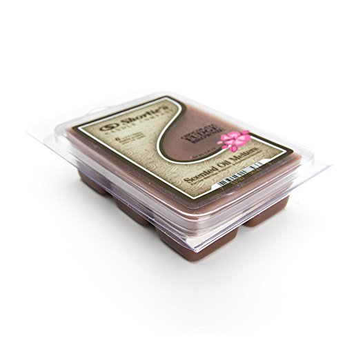 Shortie's Candle Company Chocolate Fudge Brownie Wax Melts - 1 Highly Scented 3 Oz. Bar - Made with Natural Oils - Bakery & Food Air Freshener Cubes Collection