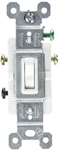 PASS & SEYMOUR 663WGTU 15A WHT 3Wy Tog Switch (Tog Dimmer)