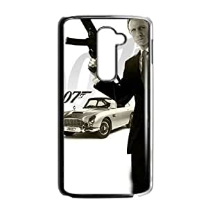 Protection Cover LG G2 Cell Phone Case Black Geyxv 007 James Bond Personalized Durable Cases