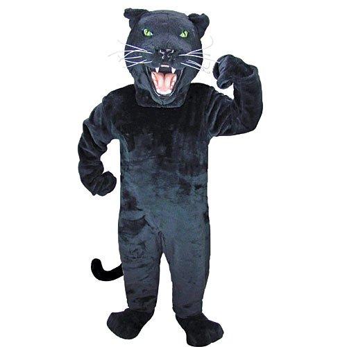 Black Panther Mascot Costume -
