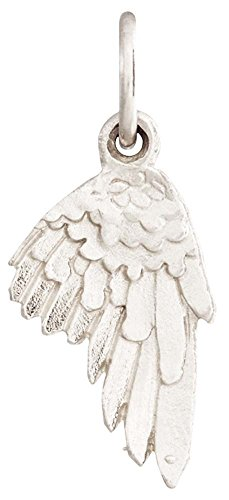 Helen Ficalora Angel Wing Mini Charm White Gold
