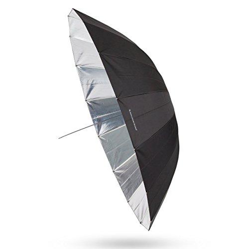 UNPLUGGED STUDIO 70inch Silver Umbrella (16 fiberglass ribs) by UNPLUGGED STUDIO