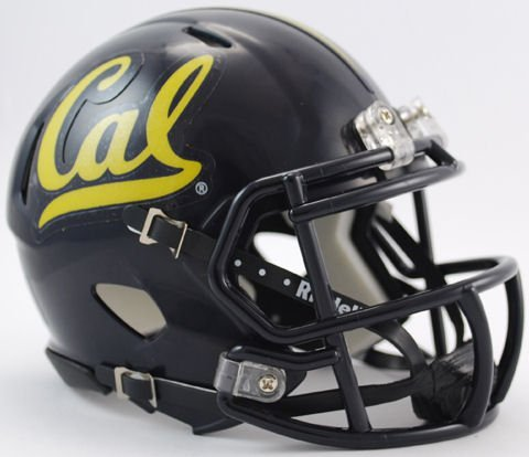 - NCAA California Golden Bears Speed Mini Helmet