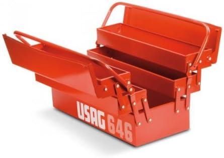 USAG U06460201 - Caja extensible de cinco compartimientos (vacía ...