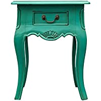 NES Furniture Nes Fine Handcrafted Furniture Solid Mahogany Wood Sophie End Table / Nightstand - 22