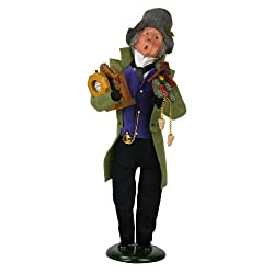 Byers' Choice Clockmaker Caroler Figurine #406 from the Specialty Collection