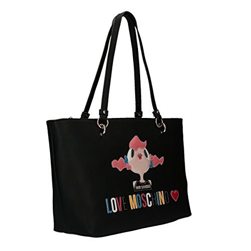 Love Moschino Charming bag shopping bag black