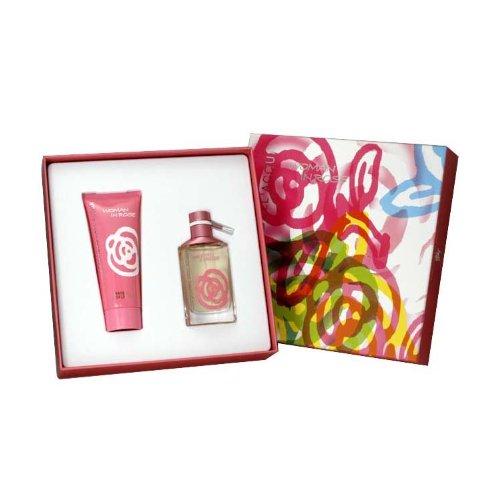 Woman In Rose for Women 2 Piece Gift Set (Eau De Toilette Spray 1.7 Ounce , Perfumed Body Lotion 3.4 Ounce)