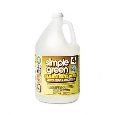 Simple Green 11201 Clean Building Carpet Concentrate Cleaner, 1 Gallon Bottle from Simple Green