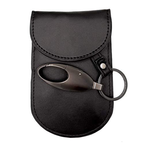 Car Key Fob Protection, Colisivan Faraday Bag Key Fob Signal Blocker Case, Keyless Entry Fob Guard RFID Blocking Pouch for WiFi/GSM/LTE/NFC/RF Blocked