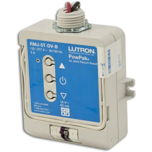 Lutron RMJ-5T-DV-B 120-277V Pow Pak Wireless Dimming Module Ballast by Lutron