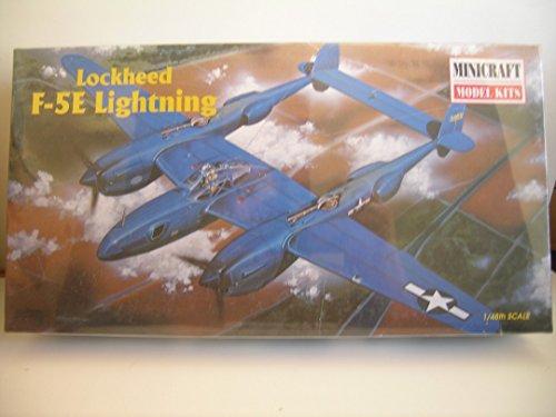 Minicraft Models---Lockheed F-5E Lightning--Plastic Model Kit