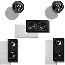 Polk Audio Vanishing LS Series 5.0 In-Wall / In-Ceiling Home Theater Speaker System (2-265LS, 2-700LS & 1-255CLS) by Polk Audio