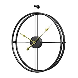 Aero Snail Black European Minimalism Simple Creative Metal Wall Clock Fashion Modern Living Room Clocks