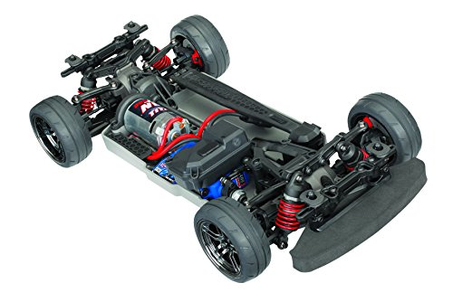 - Traxxas Automobile Electric AWD Remote Control 4-Tec 2.0 Race Car Chassis with TQ 2.4GHz radio, Size 1/10