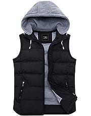 ZSHOW Women's Winter Padded Vest Removable Hooded Outwear Jacket