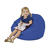 SoftScape Bean Bag Chair, Furniture for Kids, Perfect for Reading, Playing Video Games or Relaxing, Alternative Seating for Classrooms, Daycares, Libraries or Home