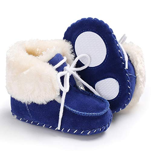 Pictures of Fnnetiana Newborn Baby Warm Winter Snow Boots 4