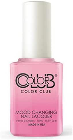 Color Club Mood Changing Nail Lacquer, Enlightened, 0.5 Fluid Ounce