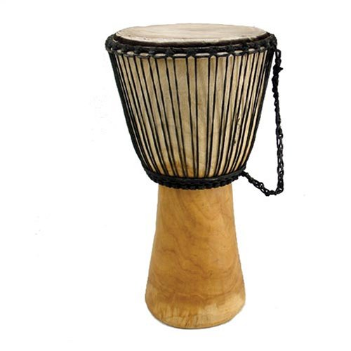 23'' Full Size Professional Quality Authentic African Djembe Drum From Ghana - Traditional African Musical Instrument