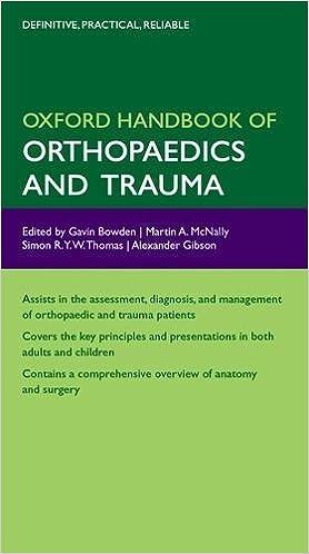 Kết quả hình ảnh cho Oxford handbook of orthopaedics and trauma