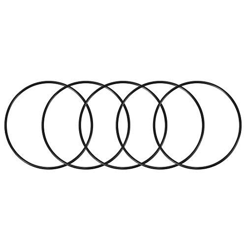 5 O-rings 112mm x 120mm x 4mm para bombas y filtros de agua