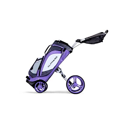 Alphard Golf Duo LT Cart Bag, Violet