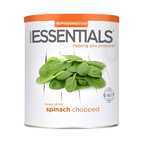 Emergency Essentials Freeze Dried Chopped Spinach - 6 oz by Provident Pantry