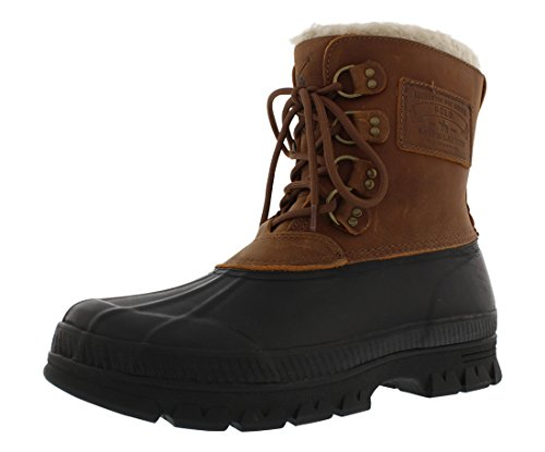 Polo Ralph Lauren Landen Men's Shearling Duck Boots (13)