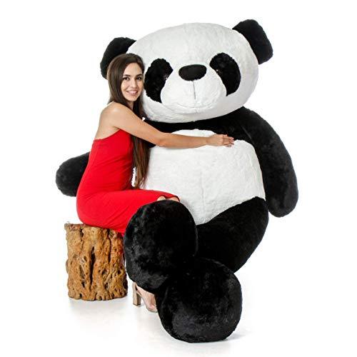 MSFI Teddy Bear Stuffed Soft Toy  4 Feet, Black