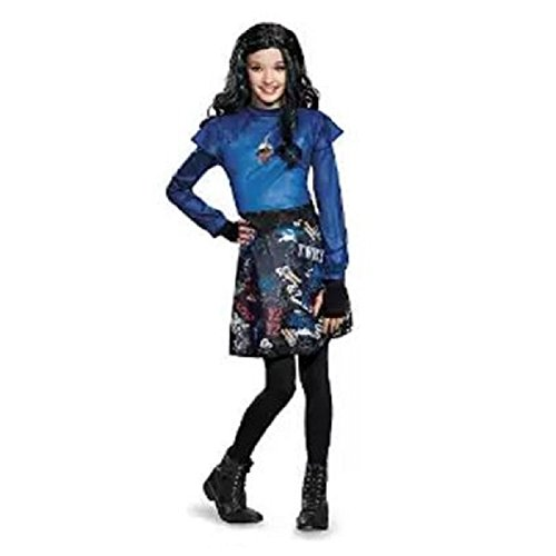 Disney Movie Group Costume Ideas (Evie Isle of the Lost Classic Child Costume - Large)