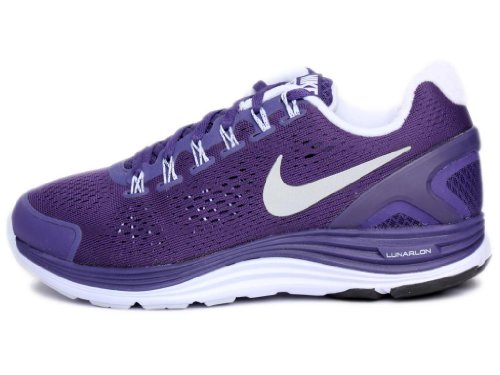 05fd0bc2c93d Nike Lunarglide+ 4 Womens Running Shoes 524978-405 Night Blue 6.5 M US -  Buy Online in KSA. Apparel products in Saudi Arabia. See Prices