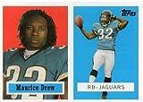 2006 Topps Turn Back the Clock #4 of 22 MAURICE DREW Jacksonville Jaguars