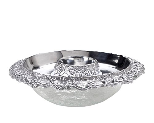 Grape Serving Tray (Arthur Court Designs Aluminum Grape 14