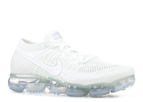 Nike Air Vapormax Flyknit Herren Weiß (blanc / Voile / Os De La Lumière)