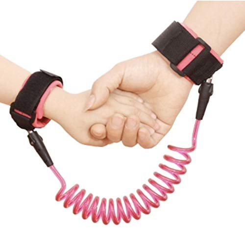 Nessere Adjustable Safety Harness Child Wrist Leash Anti-Lost Link Walking Assistant Walkers from Nessere