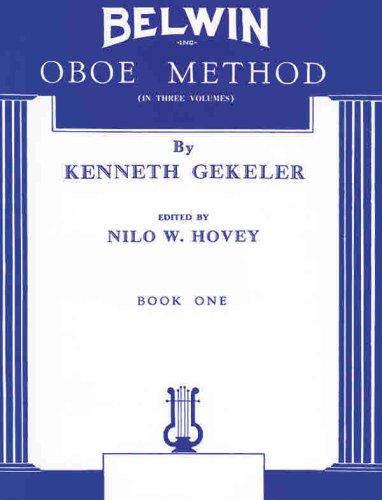 Belwin Oboe Method, Bk 1