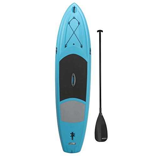 Lifetime Amped Paddleboard with Paddle, 11', Glacier Blue by Lifetime