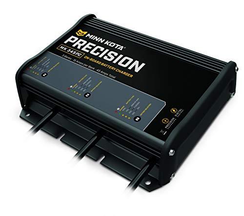 Minn Kota 1833450 Precision On-Board Charger, MK 345 PC (3 Bank x 15 Amps)
