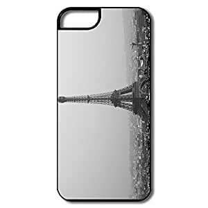 IPhone 5/5S Cases, Tower Eiffel Black White White/black Covers For IPhone 5