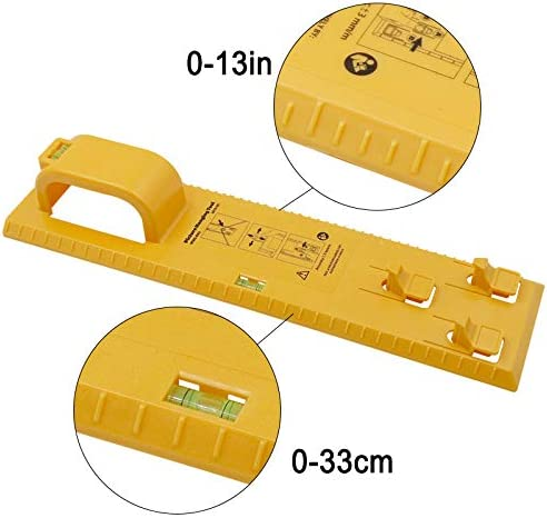 Liamostee Multifunction Picture Hanging Tool with Level Easy Frame Picture Hanger Tool